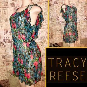 Tracy Reese Anthropologie Floral Print Dress